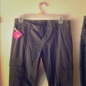 Vans Olive Cargo Pants